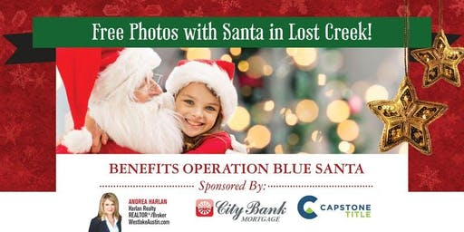 Free Photos with Santa in Lost Creek!