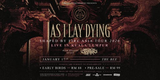 As I Lay Dying Live In Kuala Lumpur 2020