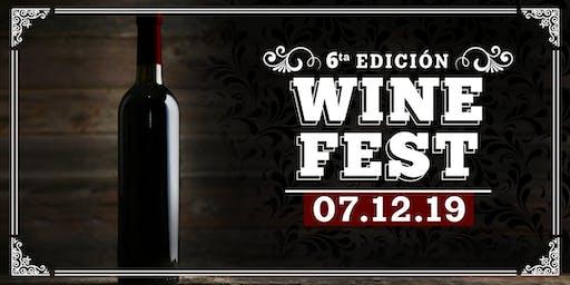 WINE FEST 6° EDICIÓN