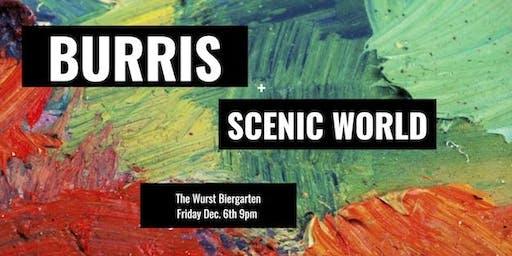 Burris with Scenic World at The Wurst Biergarten