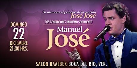 Manuel José, en memoria al príncipe de la canción entradas