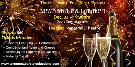 A New Year's  Eve Cabaret 2020 tickets
