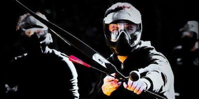 Combat archery tournament