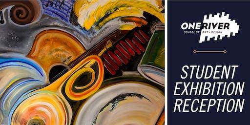 Student Exhibition Reception