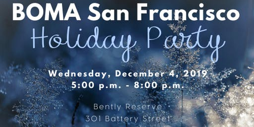 BOMA San Francisco Holiday Party 2019