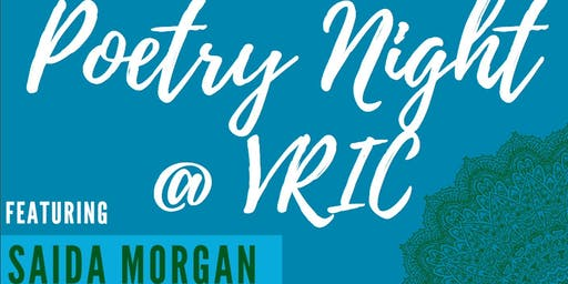 Poetry Night @ VRIC