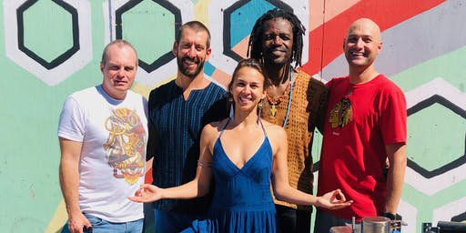 Yoga + Ecstastic Dance to Live Drumming w/ Angelica & Beat Medicine 11/23