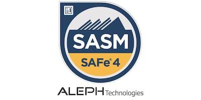SAFe® Advanced Scrum Master (SASM) - Boston, MA