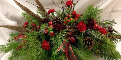 Making Holiday Spirits Bright -  A Floral Arranging Workshop