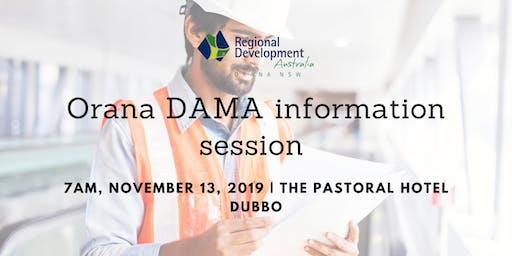 Orana DAMA Information Session Dubbo