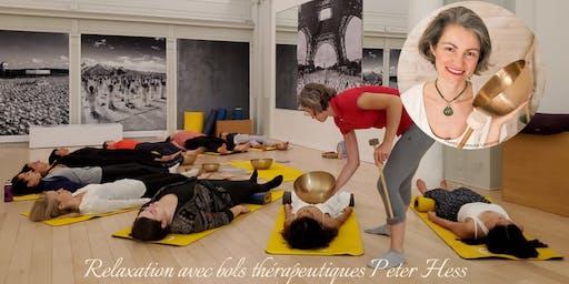 Yoga sur Chaise + Relaxation avec bols thérapeutiques Peter Hess