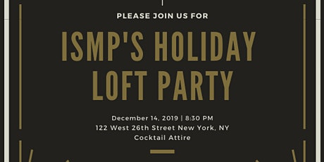 ISMP Holiday Loft Party tickets