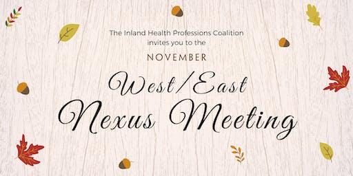 West/East Nexus Meeting