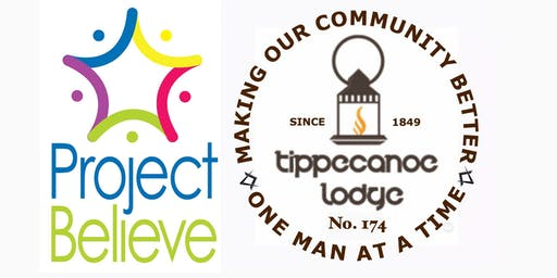 Tippecanoe Masonic Lodge Charity Gala for Project Believe