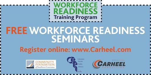 Workforce Readiness Seminar, presented by the Workforce Training Scholarship Program 12/11
