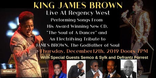 KING JAMES BROWN Live At Regency West