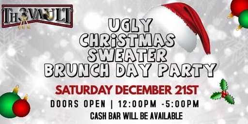 UGLY CHRISTMAS SWEATER BRUNCH DAY PARTY