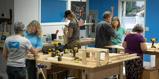Build(h)er Skills: Intro to Carpentry for Women (12/18)