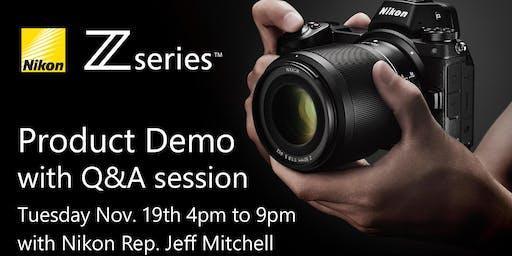 Nikon Z Series Q&A Session with Nikon Rep. Jeff Mitchell