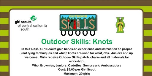 Outdoor Skills: Knots - Visalia