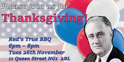 Nottingham Roosevelt Scholarship - Thanksgiving Event