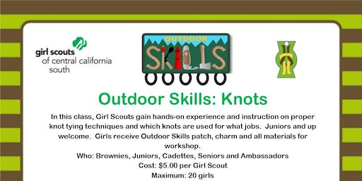 Outdoor Skills: Knots - Bakersfield