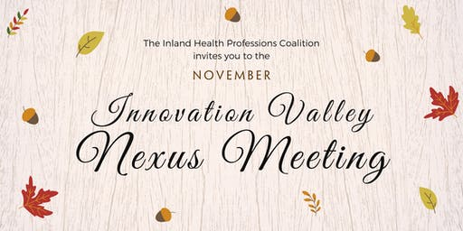 Innovation Valley Nexus Meeting