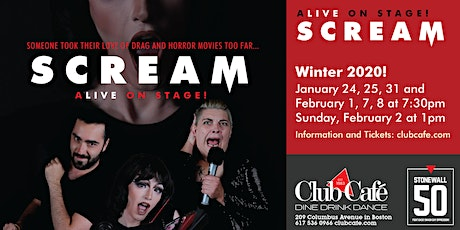 Scream: Live on Stage! tickets