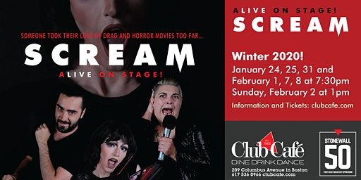 Scream: Live on Stage!