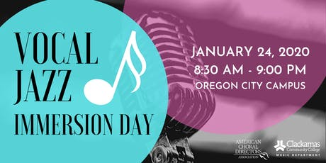 Vocal Jazz Immersion Day tickets