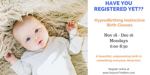 HypnoBirthing® Instinctive Classes