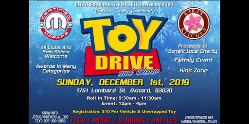 TOY DRIVE AND SHOW
