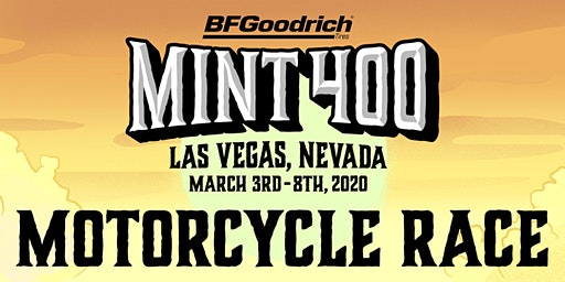 2020 Mint 400 Motorcycle Race - Team Classes