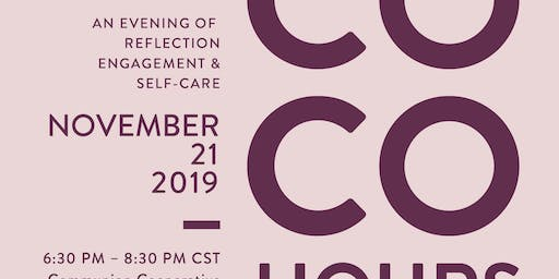 CoCo Hours from Collective Confidence - November 2019