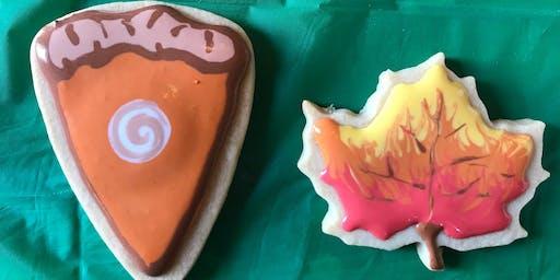 Thanksgiving Cookie Decorating Fun!!!