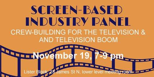 Screen-Based Industry Panel