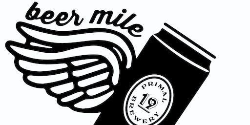 Beer Mile Race