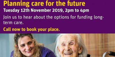 Planning care for the future