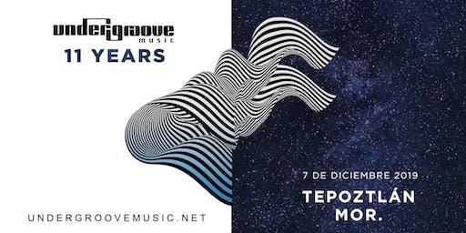 Undergroove Music 11 Years