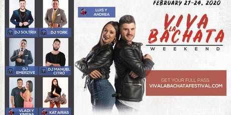 Viva La Bachata Weekender With The MOB tickets