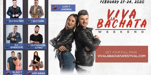 Viva La Bachata Weekender With The MOB