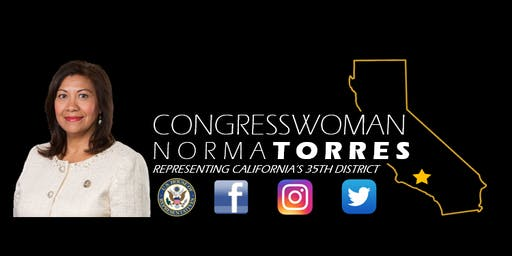 Congresswoman Norma J. Torres: Veteran Census Job Fair 2020