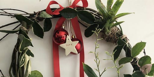 Living Christmas Wreath Workshop