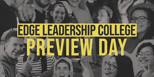 EDGE Leadership College Preview Day