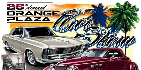 26th Annual Orange Plaza Car Show tickets