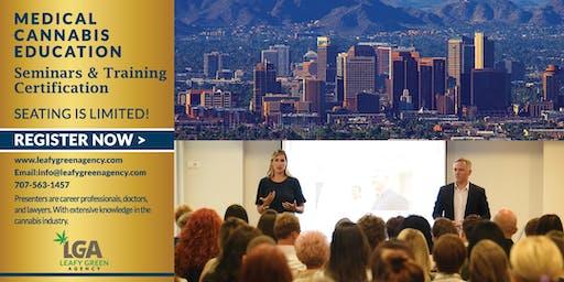 Utah One Day Medical Marijuana Masterclass Workshop - Salt Lake City