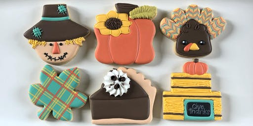SOLD OUT!  Fall Favorites - Beginner Cookie Decorating Class