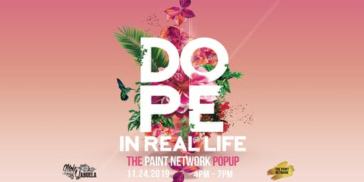 Dope In Real Life Rooftop Day Party