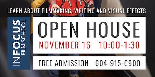 InFocus Film School Open House 2019