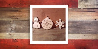 DIY Woodsy Ornaments